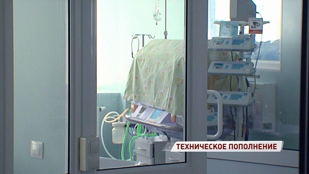В перинатальном центре появились три новых аппарата искусственной вентиляции легких