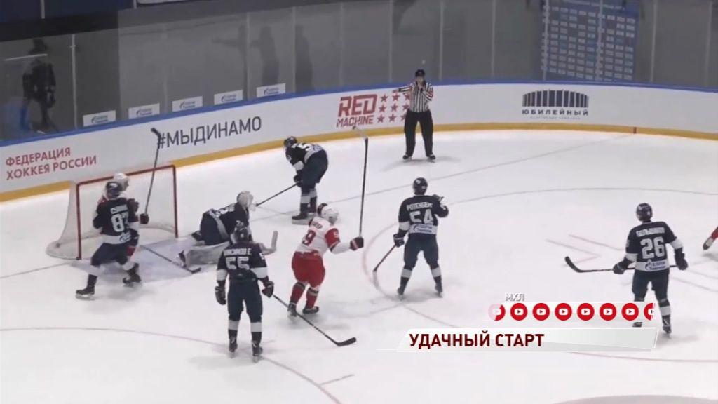 «Локо» в гостях обыграла петербургское «Динамо»