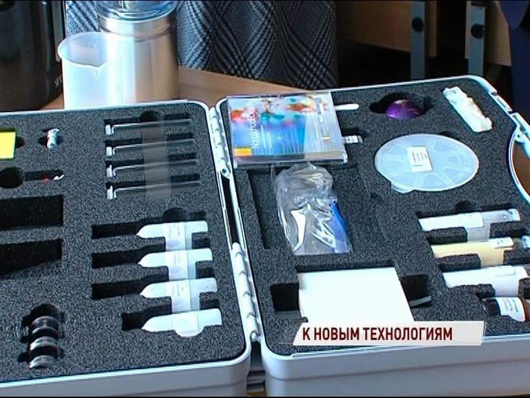 В Ярославские школы продолжает поступать новое оборудование для исследований
