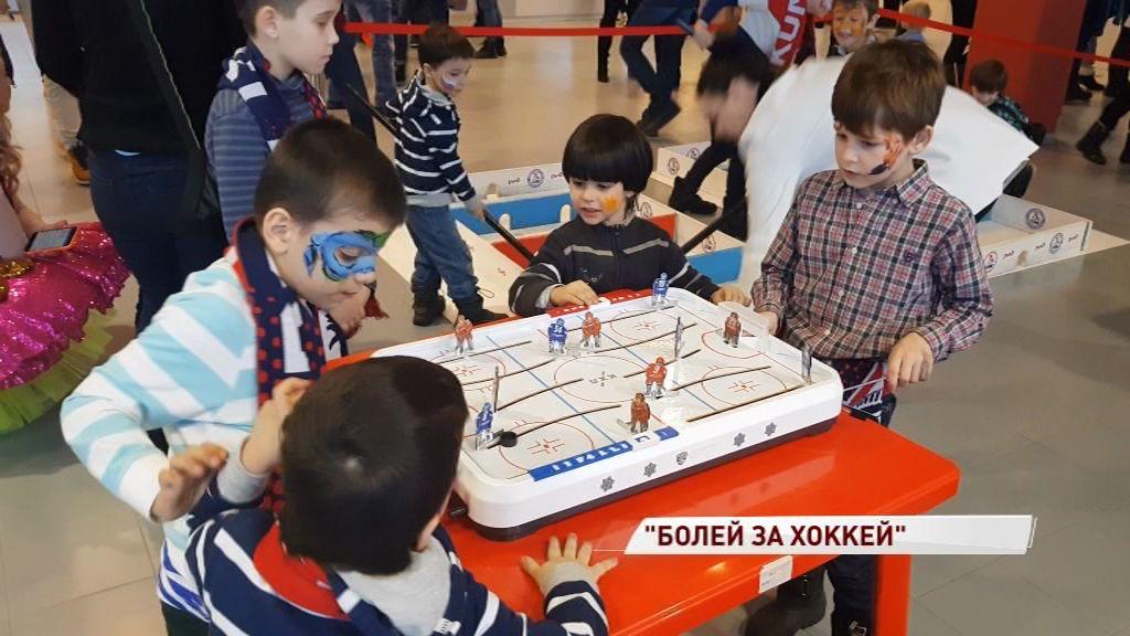 В «Арене-2000» прошла благотворительная акция для юных поклонников «Локомотива»
