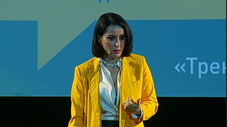 Тина Канделаки прочитала лекцию в Ярославле