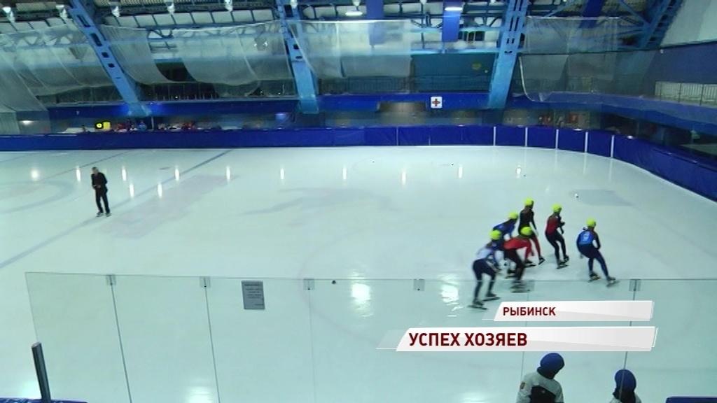 Рыбинцы завоевали шесть медалей на чемпионате России по шорт-треку