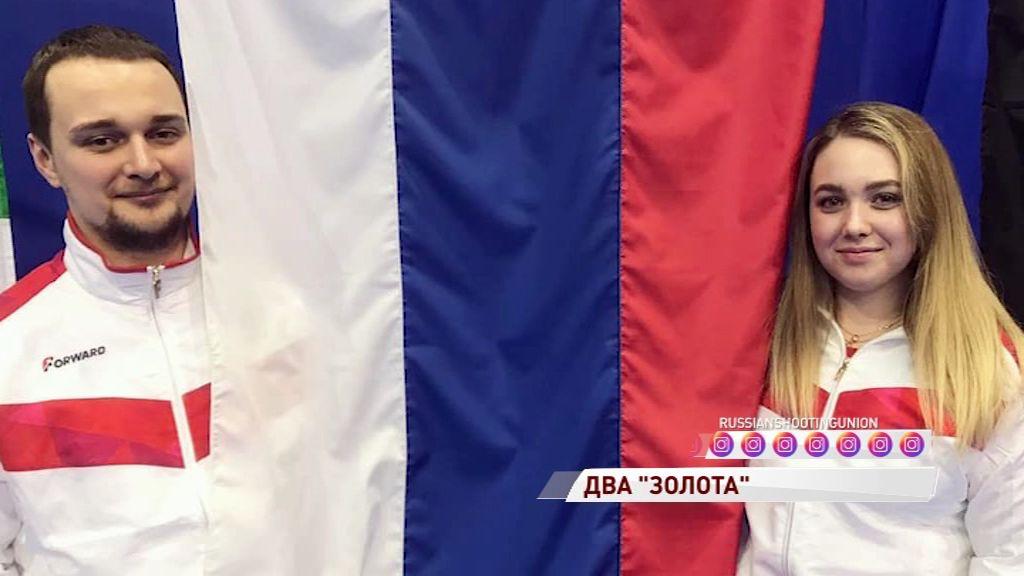 Анастасия Галашина выиграла две главные награды на чемпионате Европы по пулевой стрельбе