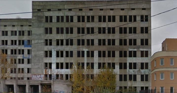 У здания недостроенной больницы в Брагине появился новый собственник