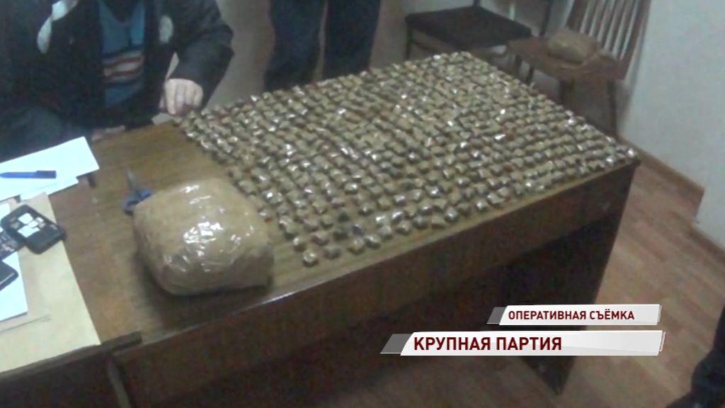 Рекордная партия:ярославские полицейские задержали наркоторговцев