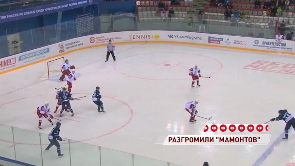 «Локо» уверенно обыграл «Мамонтов Югры» в первом матче полуфинала Кубка Харламова