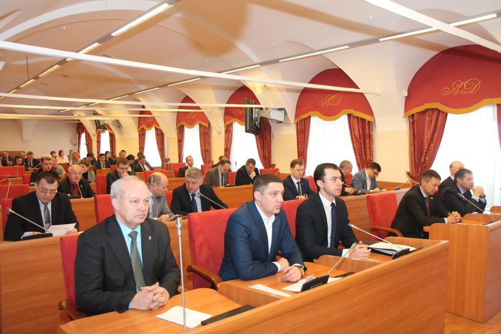 В облдуме обсудили вопросы инвестиционной привлекательности региона