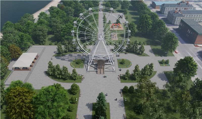 Инвестор предложил построить в Рыбинске колесо обозрения
