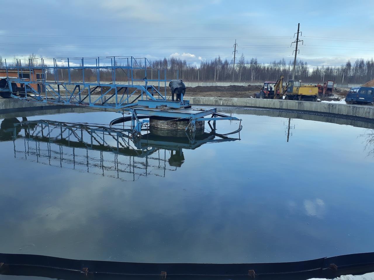 В Рыбинске на очистных сооружениях завершили модернизацию