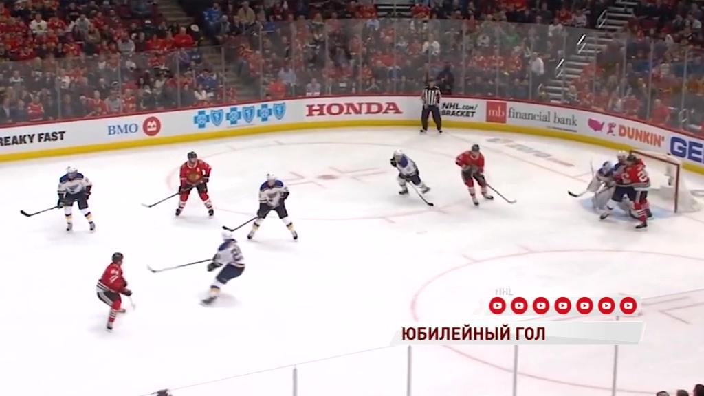 Нападающий «Чикаго» Артем Анисимов забросил 15-ю шайбу в этом сезоне