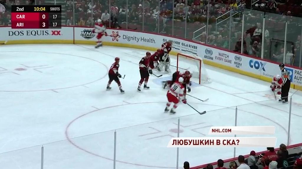 Илья Любушкин может стать игроком СКА