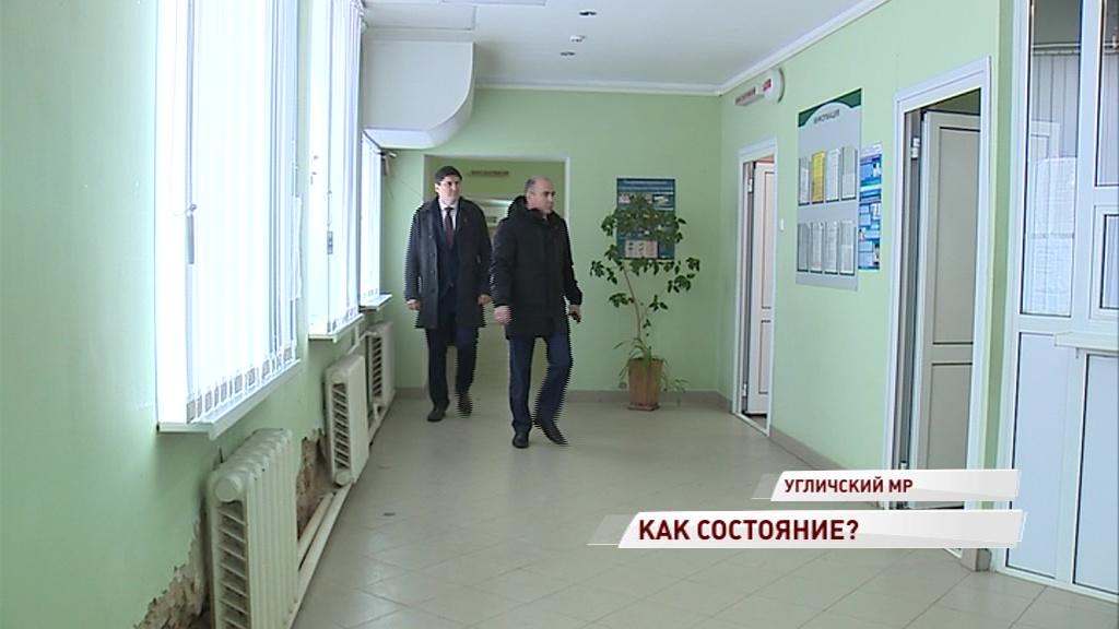Областные парламентарии посетили ФАПы Угличского района: какие нуждаются в реконструкции