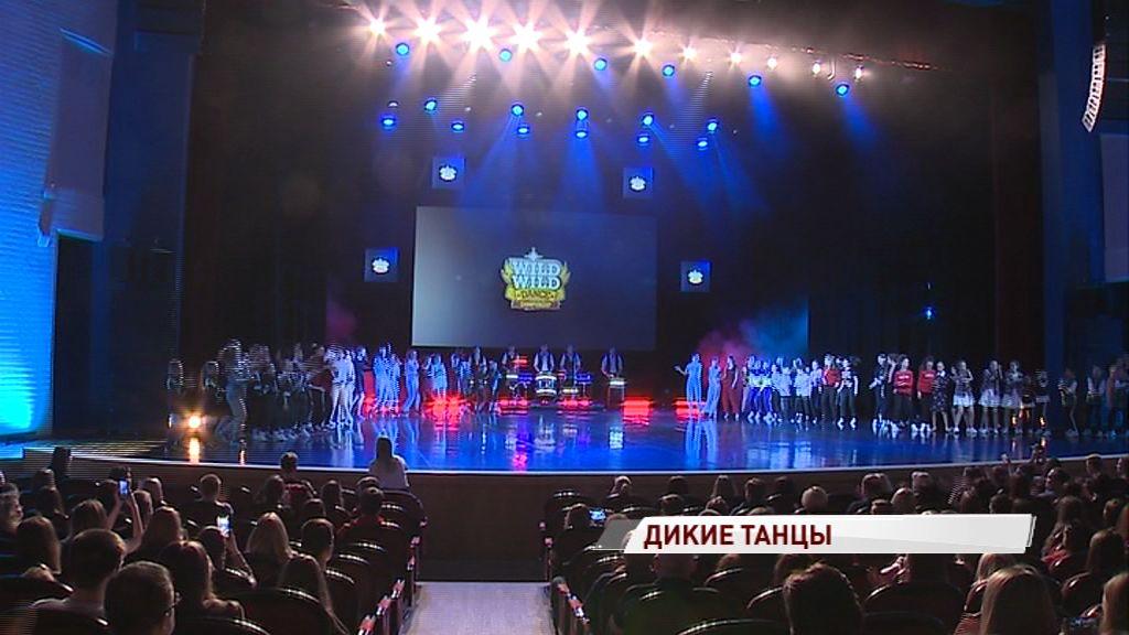 Более тысячи участников соревновались в современных танцах