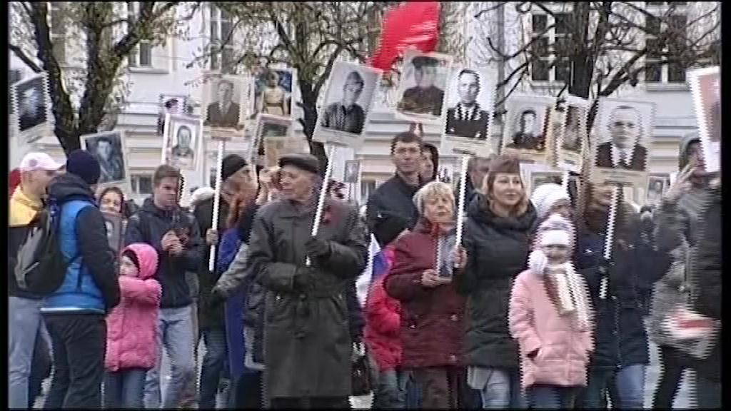 По Ярославлю пройдет «Бессмертный полк»: маршрут шествия