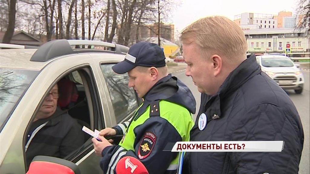 Из десяти только один с документами: в Ярославле прошел рейд по таксистам