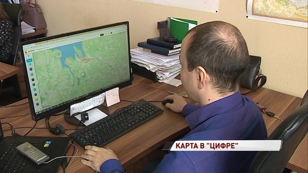 Появился новый интернет-портал с подробной картой региона