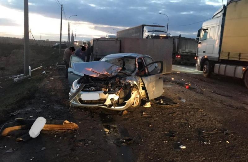 Массовое ДТП на окружной: пострадали люди