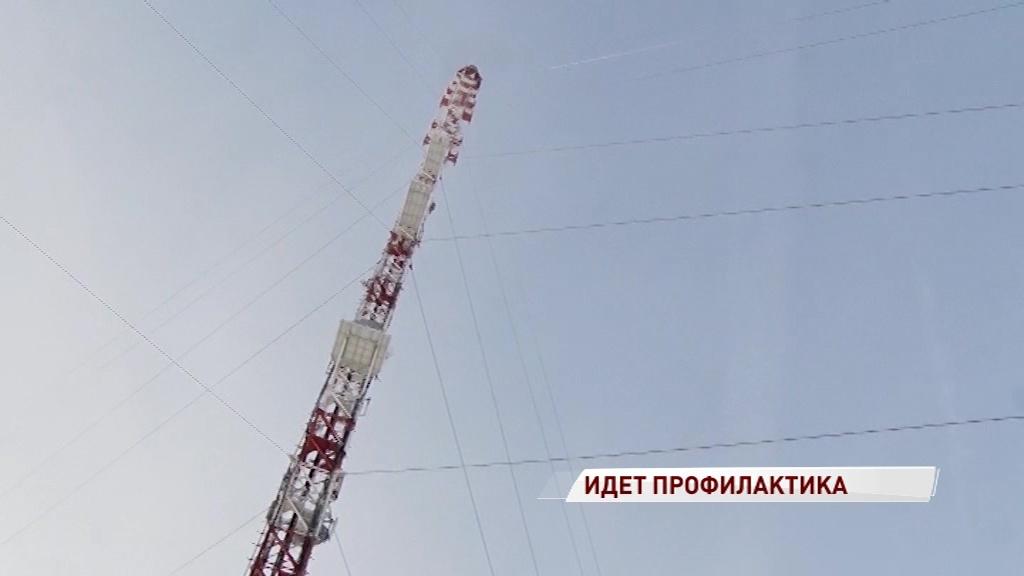 Ярославцы и рыбинцы на несколько часов останутся без телевидения и радио