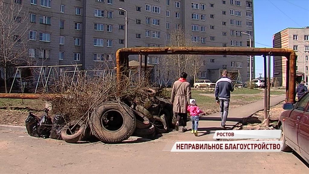 Жители Ростова остались недовольны благоустройством двора: что делать в такой ситуации
