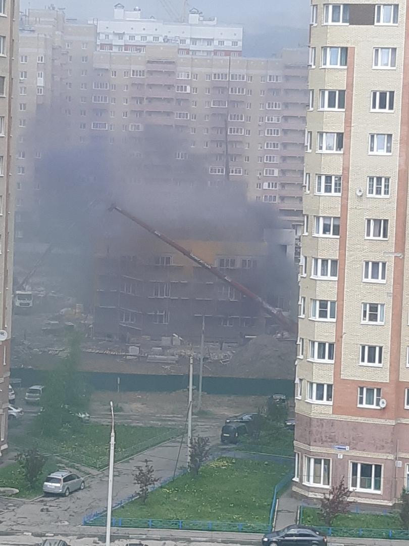 В Ярославле загорелся детский садик