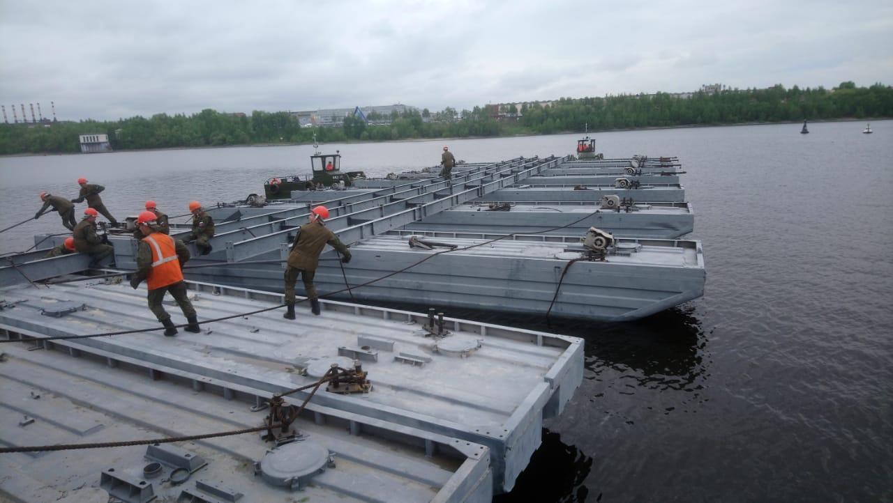 Дмитрий Миронов договорился с Минобороны о строительстве понтонного моста в Некрасовском