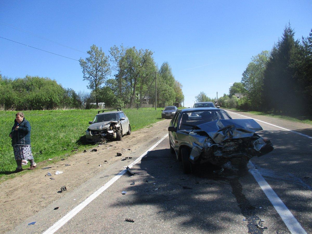 Не уступила дорогу: в ДТП в Большесельском районе пострадала женщина
