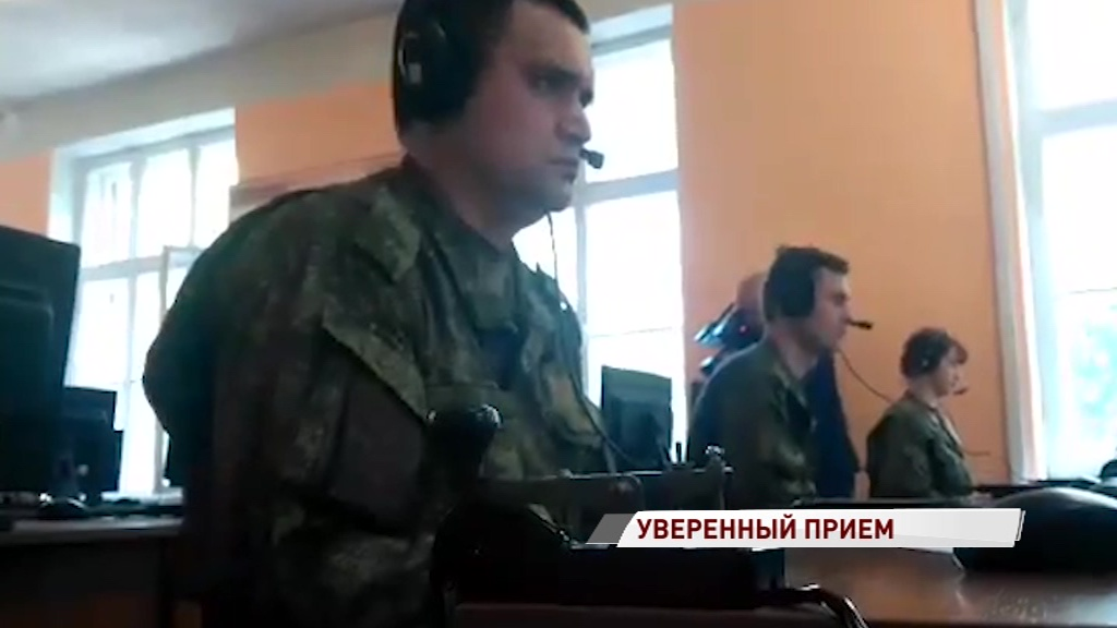 В Переславле проходят военные соревнования связистов «Уверенный прием»