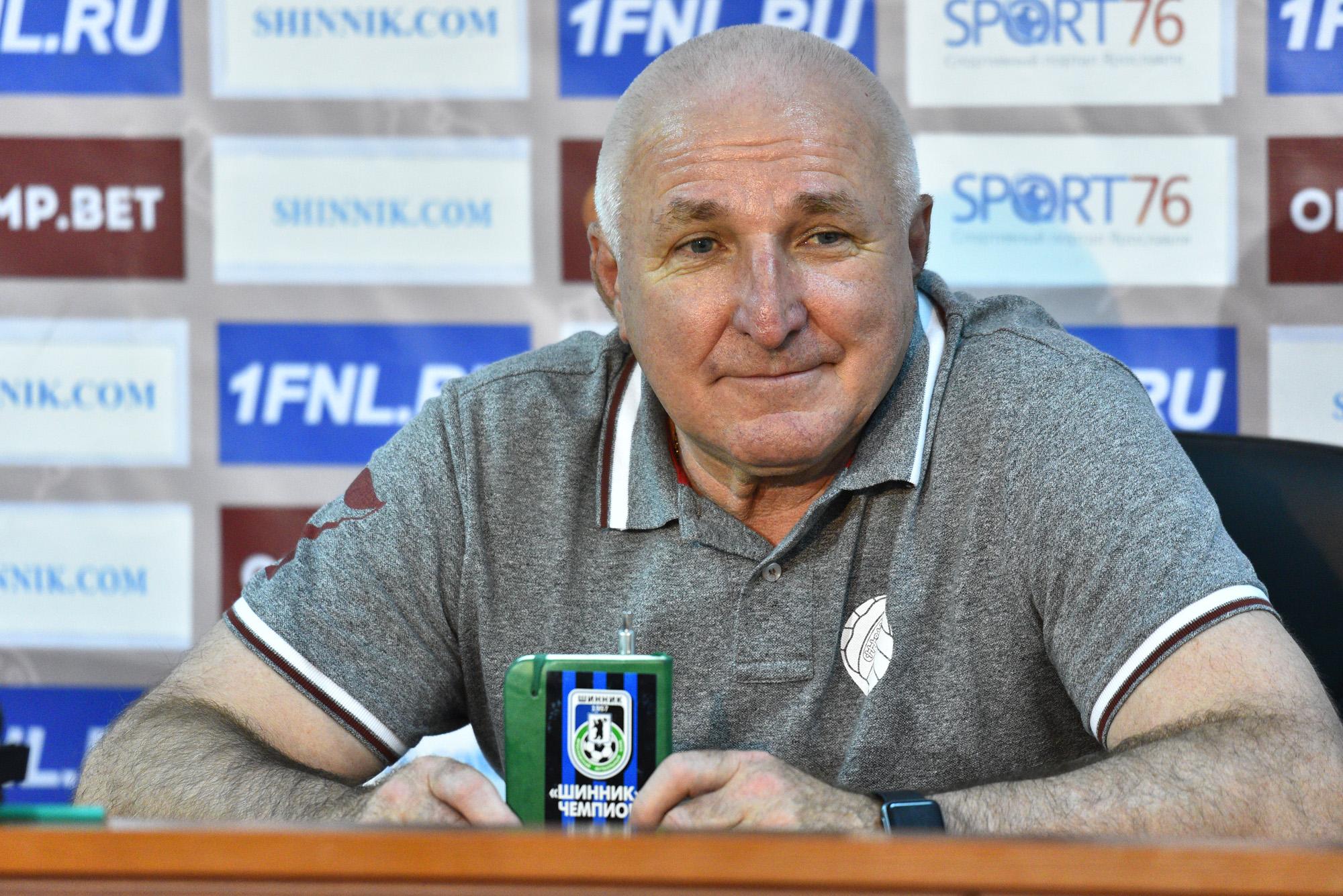 Еще три года: Александр Побегалов останется главным тренером «Шинника»