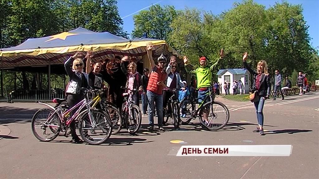 Ярославцы отпраздновали День семьи в парке на Даманском острове