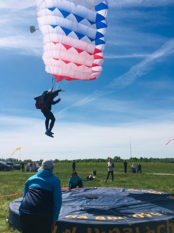 Рыбинск принимает кубок России по парашютному спорту