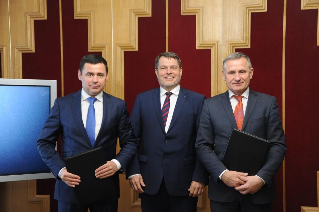Дмитрий Миронов подписал соглашение о сотрудничестве с Злинским краем Чехии