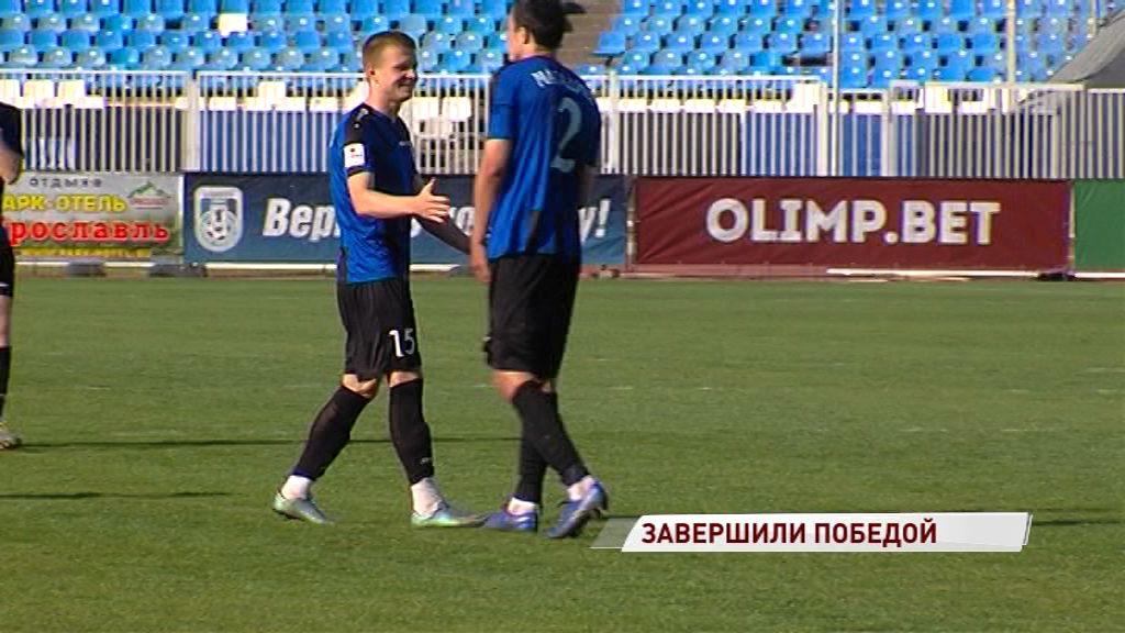 «Шинник» обыграл «Авангард» и завершил сезон на шестом месте