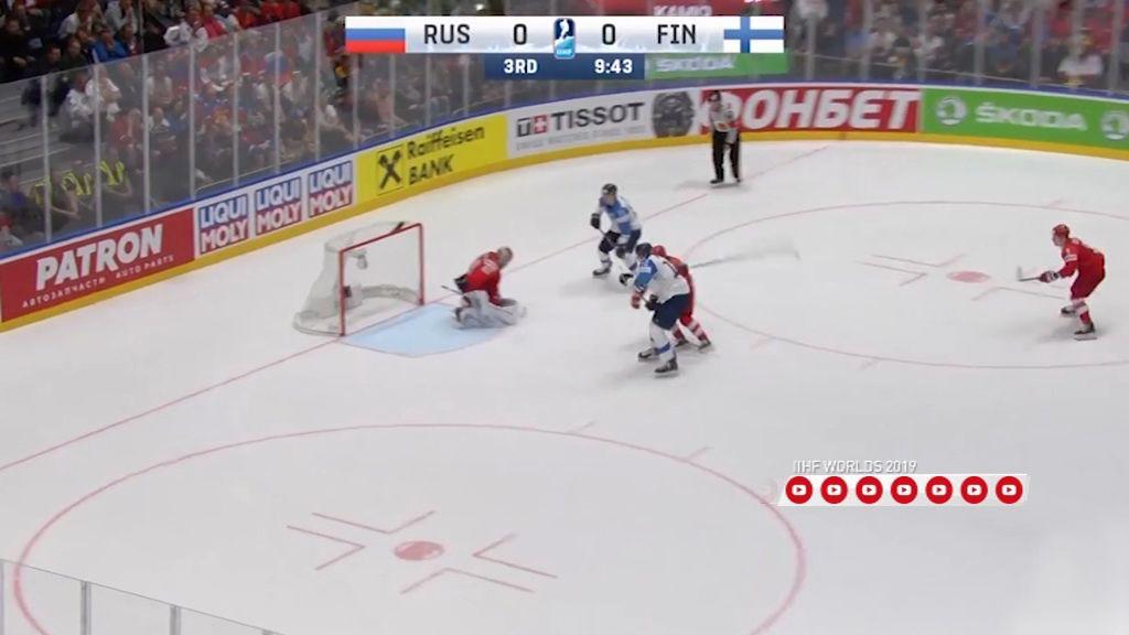 Сборная России по хоккею уступила финнам на чемпионате Мира