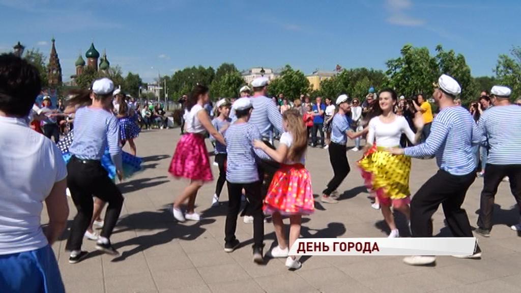 Ярославль в свой день рождения стал столицей улыбок