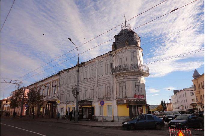 В Рыбинске доходный дом Крашенинниковых-Седова признали памятником местного значения