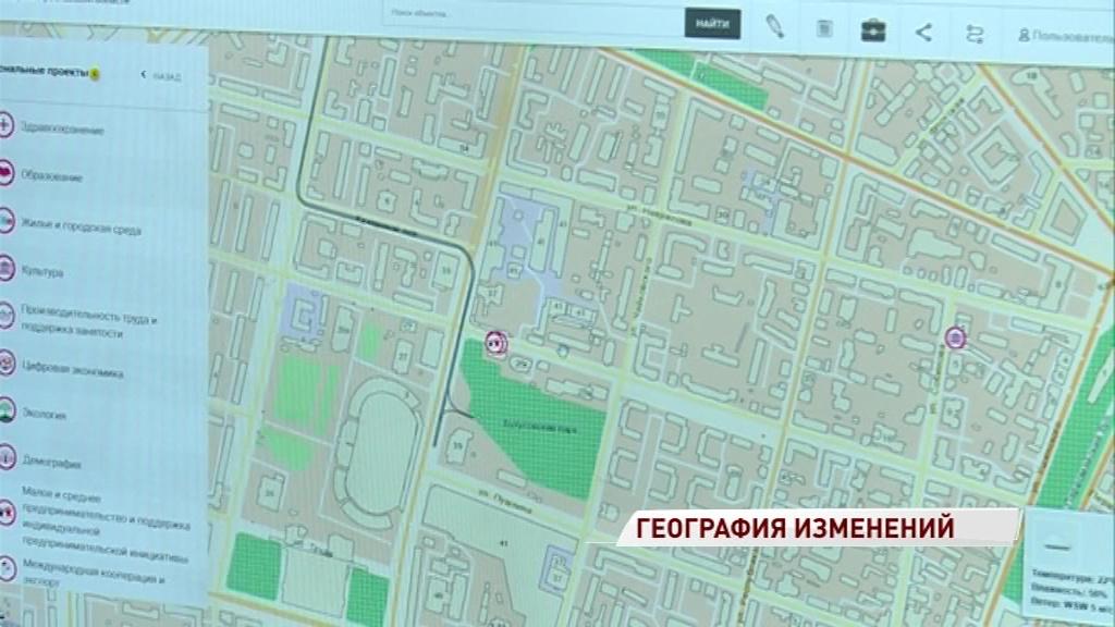 Места строительства новых садов и школ появились на интерактивной карте