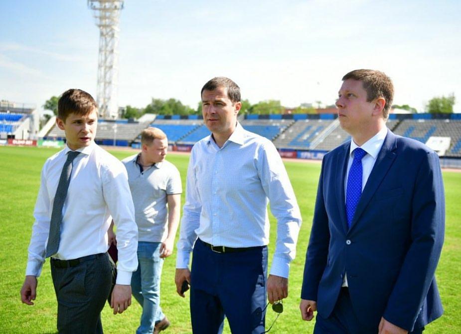 Стадион «Шинник» проверили на готовность к футбольному сезону