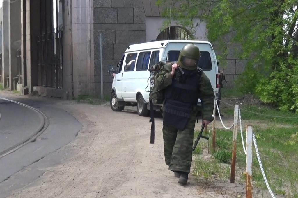 В Рыбинске прошли антитеррористические учения