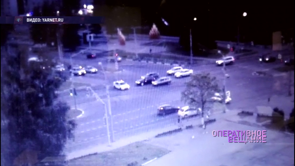 Погоня в Ярославле: полицейские ловили пьяного водителя без прав и номеров