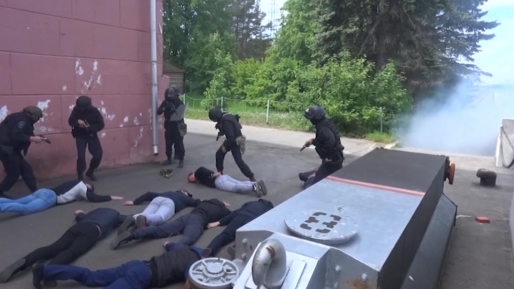 В Рыбинске прошла антитеррористическая операция