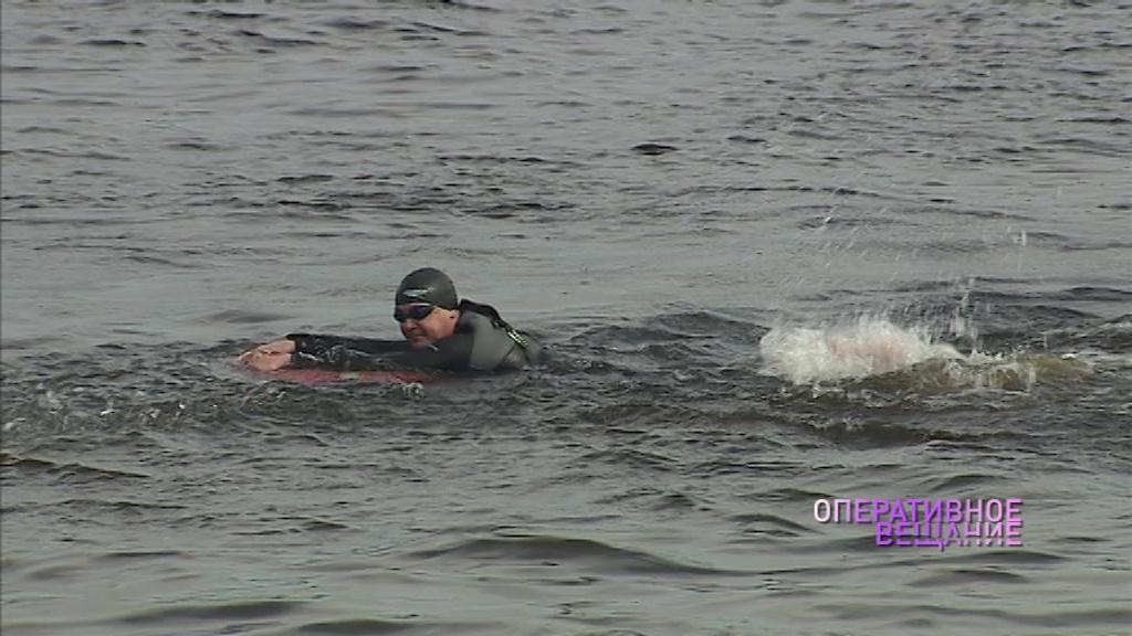 На Тверицком пляже в Ярославле прошли масштабные учения спасателей