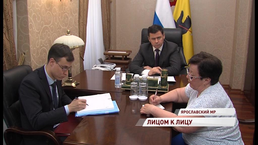 Губернатор Дмитрий Миронов провел прием жителей области