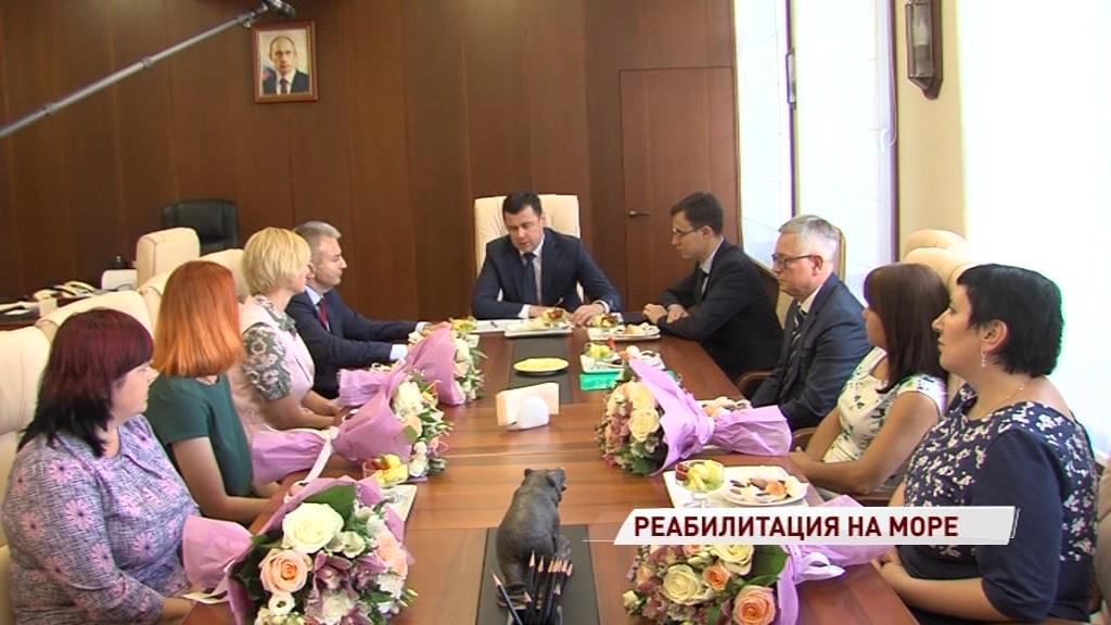 Мамы особенных детей поделились впечатлениями от курса лечения в Крыму