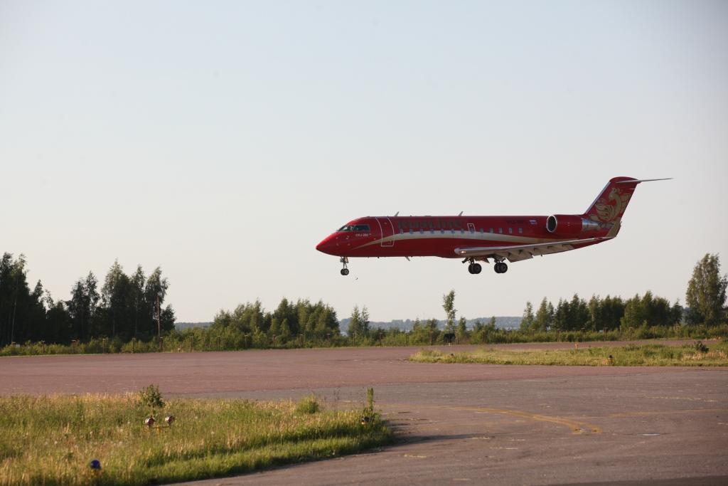В Туношне возобновили регулярные авиарейсы Сочи - Ярославль - Сочи