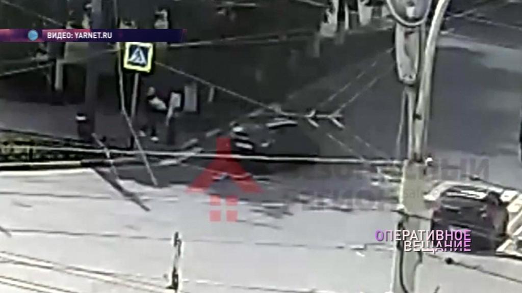 В Ярославле на «зебре» сбили пешехода