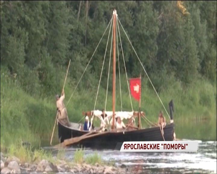 Ладья из прошлого: ярославские реконструкторы завершают строительство уникального судна