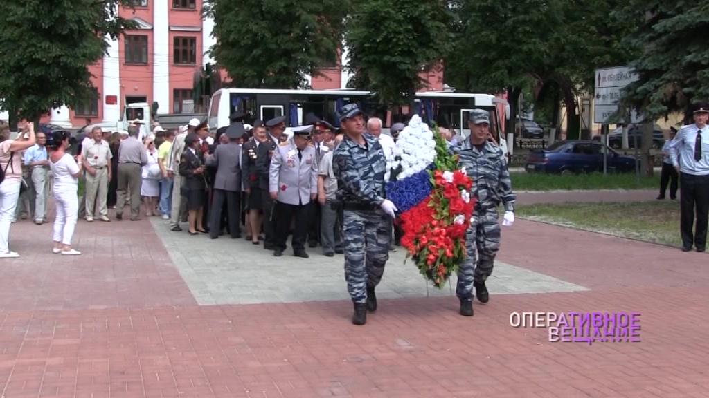 Ветераны МВД из Свердловской области посетили наш регион