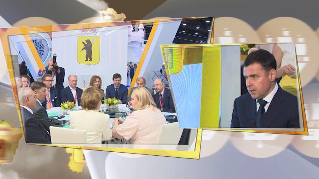 Дмитрий Миронов: «На ПМЭФ мы заключили 27 соглашений на общую сумму порядка ста миллиардов рублей»