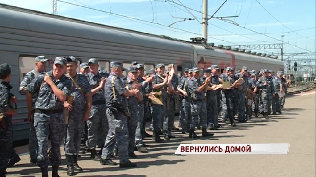 Полгода на охране порядка: сотрудники ярославской полиции вернулись из Дагестана