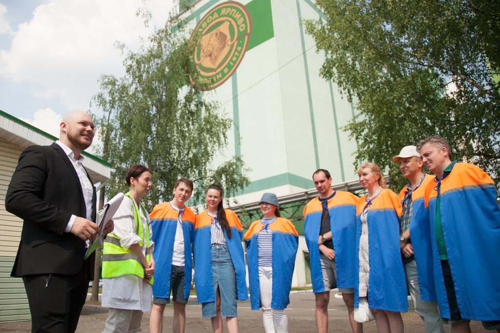 На ярославском пивзаводе прошла всероссийская акция «Открытые пивоварни»
